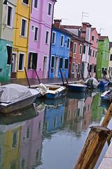 burano |3 (]babi]) Tags: venice italy reflection colors boat barca venezia colori burano riflesso