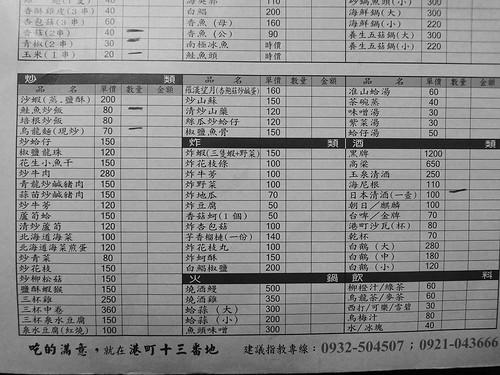[SONY WX1]港町十三番地食記