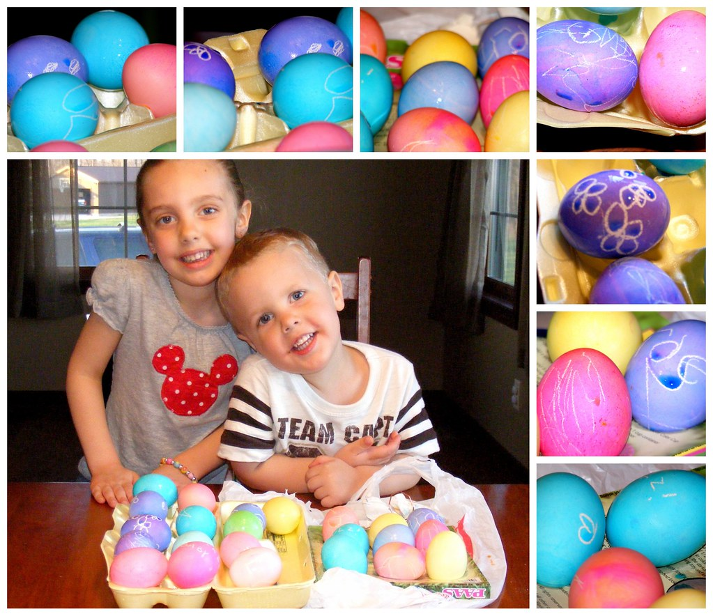 Beautiful Eggs collage