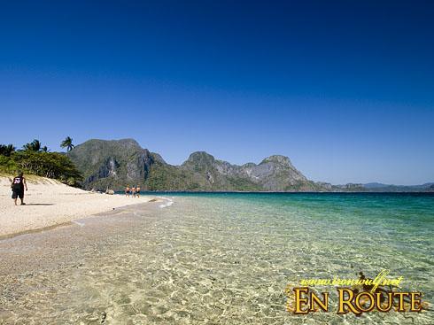 El Nido Helicopter Island Beach