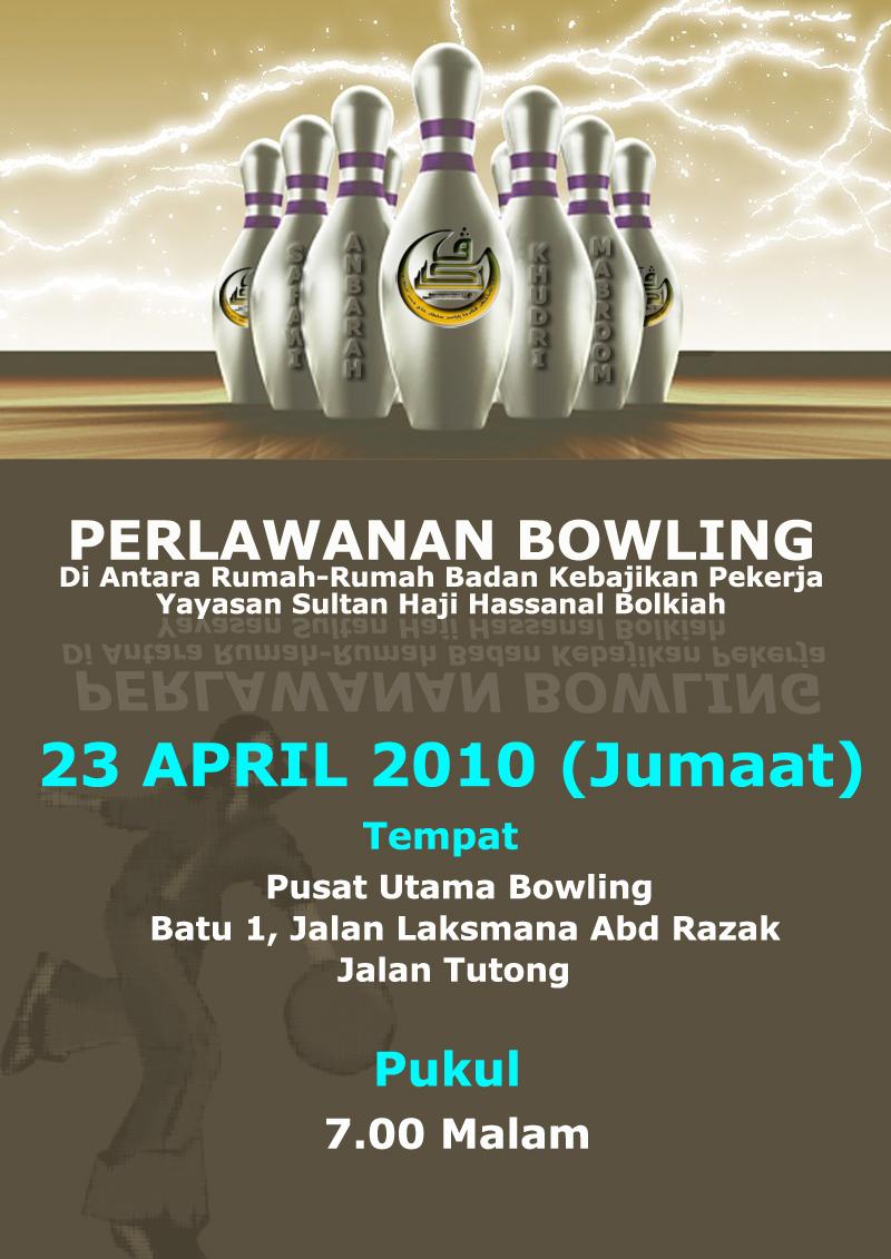bowling poster. copy