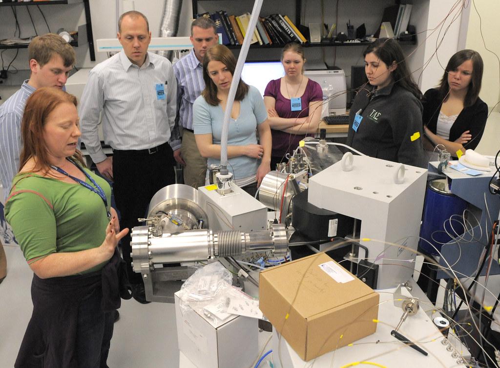 Truman University Students Visit NASA Goddard Space Flight Center