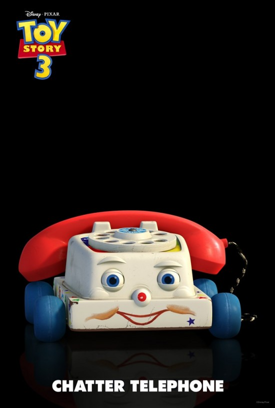 Toy Story 3 New Toy Chatter Telephone