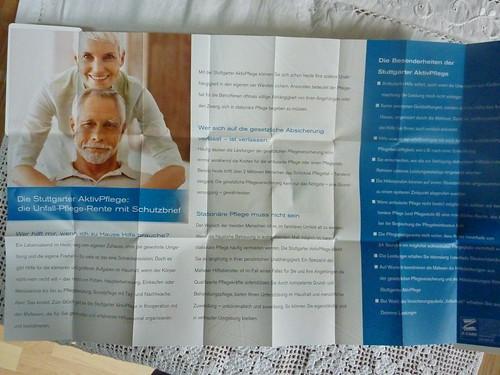 Informationsblatt: Stuttgarter AktivPflege