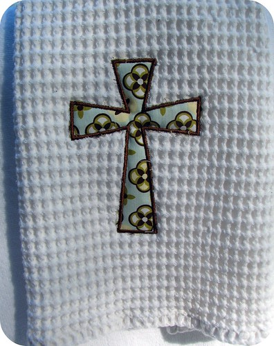 Cross Kitchen towel