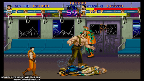 Final Fight: Double Impact (widescreen, smooth setting)