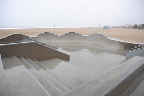 Venice Beach Rain
