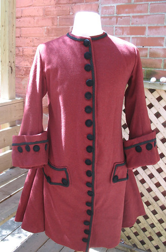 18th Century Reproduction Men's Coat Justacorps