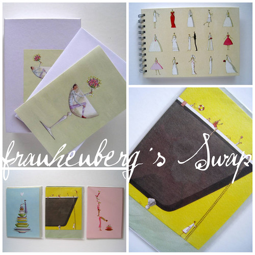 frauheuberg´s Swap ...Stationery from roger la Borde