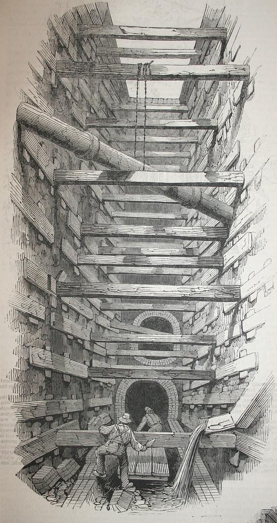 Englarging the Fleet Sewer - 2