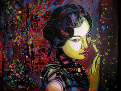 C215 - In the Mood for Love (C215) Tags: streetart art french graffiti stencil christian pochoir masacara szablon c215 schablon gumy piantillas