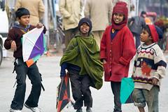 KIte-Flying Festival (anupama kinagi) Tags: street girls india kite boys smile festival kids children fun flying play laugh uttaranchal haridwar anupama kinagi