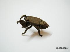 Cicada Nymph (Al3bbasi.) Tags: insect origami cicadanymph kamiyasatoshi al3bbasi