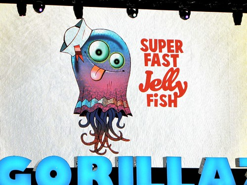 """Super Fast Jelly Fish"" Gorillaz"