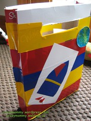 Recycled Cereal box bag