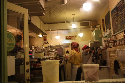 It even looks like Magnolia Bakery from the inside ...
