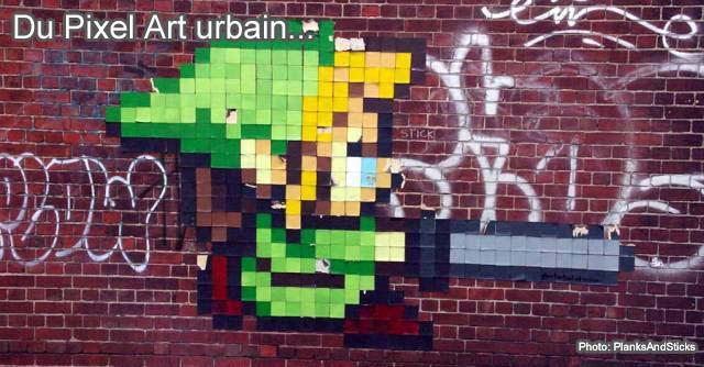 Pixel Art urbain