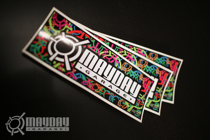 Be the first to have our first sticker! Only 100 available!