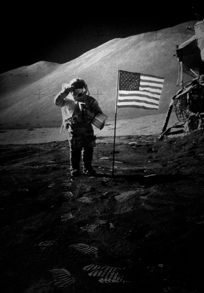 Apolo 15 Moon Walk