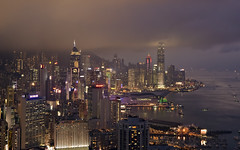 Hong Kong from Braemar Hill (Sarmu) Tags: china city light sunset wallpaper urban building skyline architecture night skyscraper landscape hongkong lights twilight highresolution asia downtown cityscape view skyscrapers nightshot harbour dusk widescreen 1600 highdefinition resolution 1200 cbd hd bluehour wallpapers 香港 ifc 1920 vantage vantagepoint ws victoriaharbour 1080 1050 720p 1080p centralplaza urbanity 維多利亞港 寶馬山 1680 720 中環廣場 2560 國際金融中心 internationalfinancecentre braemarhill sarmu