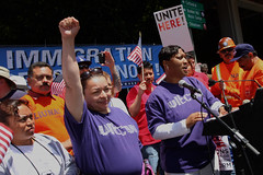Thousands march for immigration reform in Los Angeles, CA (SEIU International) Tags: california ca usa la march losangeles action politics rally diversity demonstration mayday crowds rifa 1877 2010 seiu may1 immigrationreform unionmembers mikegarcia lafed seiumembers reformimmigrationforamerica ultcw mayday2010 sb1070 laphonzabutler 20100501 may12010 unitedlongterncareworkers