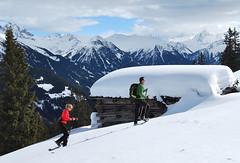 Schneeschuhprofi on Tour - Aufstieg zur Hora Alp