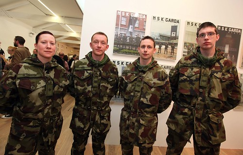 Irish soldiers at Dorm; image held here