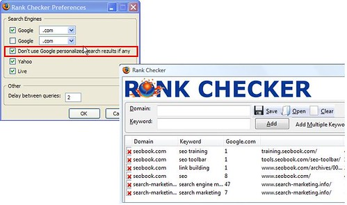 Rank  Checker | Personalised Search