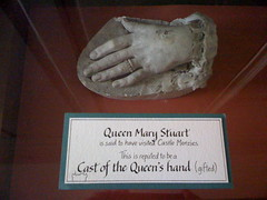 Cast of Queen Mary Stuart Hand at Castle Menzies