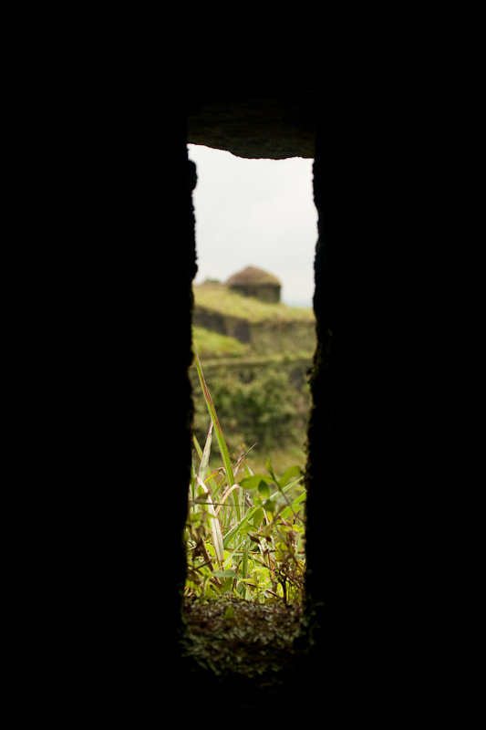 View from a slit, Manjrabad, Sakleshpur - Chitra Aiyer Photography