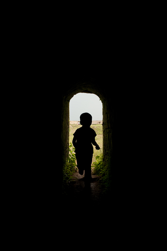 Son just enjoying the going out and coming in - Chitra Aiyer Photography