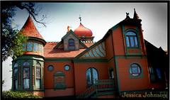 Villa Montezuma (emeraldsrain) Tags: red musician house green home beautiful jesse photo sandiego secret victorian gingerbread palace spot beethoven haunted hidden villa montezuma mansion mozart hdr built shepard dollhouse haunts merging 1887 passageways goldenhills spiritualist seances
