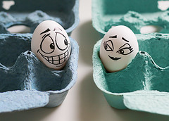 An Eggbert  love affair... (RR) Tags: food white love face goofy ink fun with emotion egg humor cartoon explore heat eggs seduction frontpage oval huevo casanova ei hitting oeuf ovo yumurta eggbert theeggventures ofeggbert playingwithfoodplaying eggbella brincandocomacomidablog
