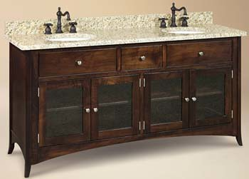 Wood Lakeshore Free-Standing Sink