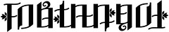 """Fortanach"" Ambigram"