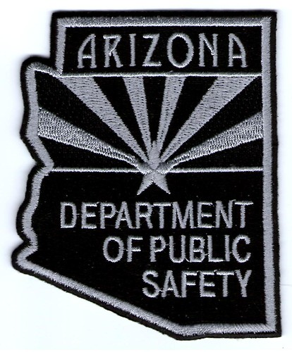 Arizona Department of Public Safety Subdued (Old Style Black and Grey)