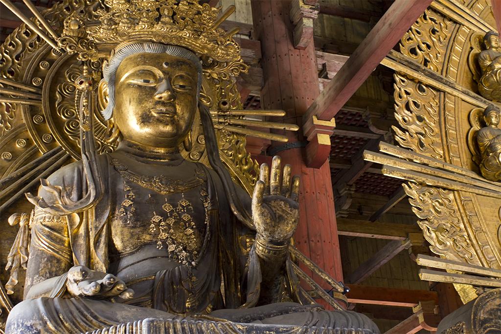 大公主鏡下的奈良東大寺大佛
