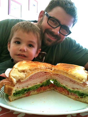 Buster, Daddy and the Awesome Sandwich