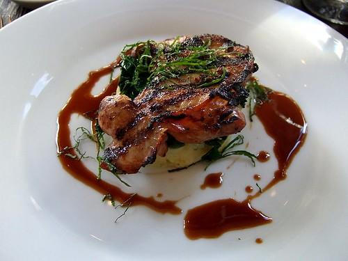 grilled quail, 101 Pimlico Road