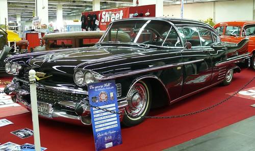 Cadillac Sedan Deville black 1958 vl