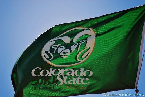 Colorado State University Flag