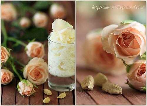рис с кардамоном и розовой водой