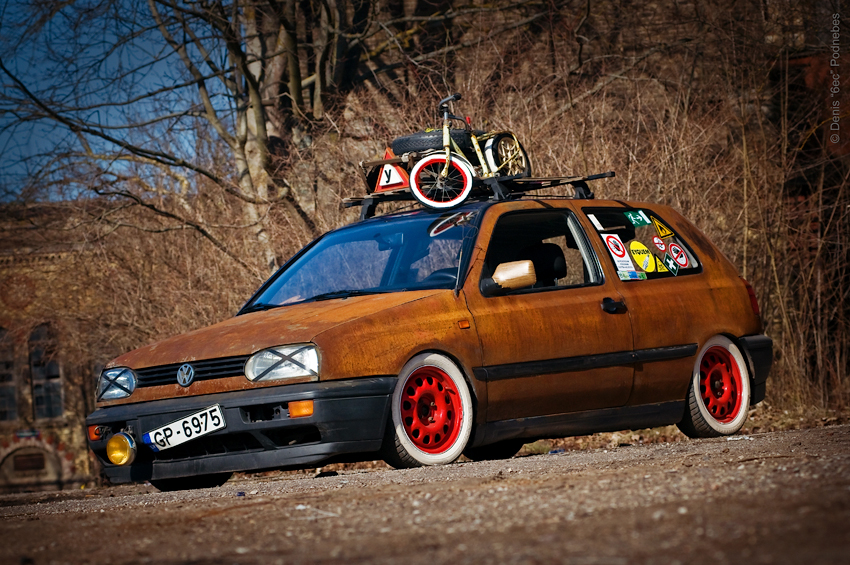 Volkswagen Golf Mk2 Gti Rat Look Машины для Gta 4