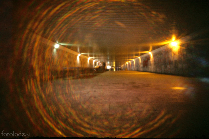 Przejście podziemne koło Galerii Łódzkiej