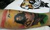 tatuagem leão e Bob Marley tattoo www.micaeltattoo.com.br micaeltattoo.wordpress.com/ micaeltattoo.daportfolio.com