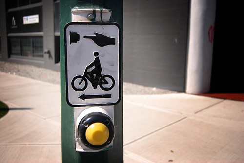 bike friendly traffic button