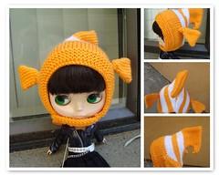 Clownfish hat 20/52
