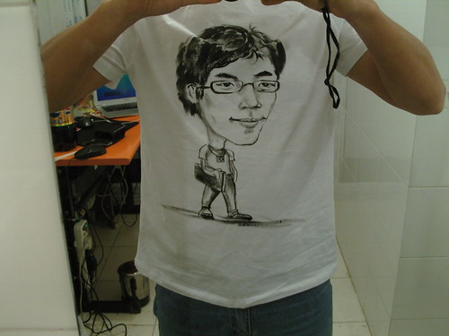 佐拉牌漫画T恤