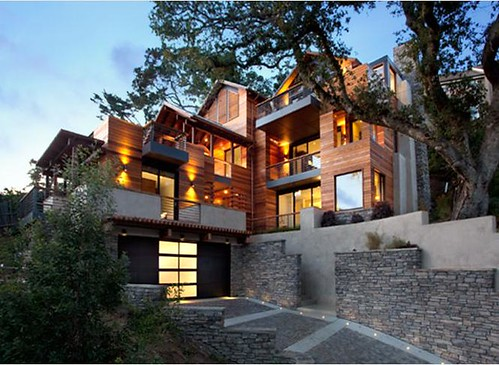 Perfect Hillside House. Architect ...