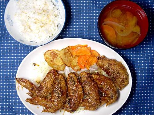 2010年5月20日の晩ご飯
